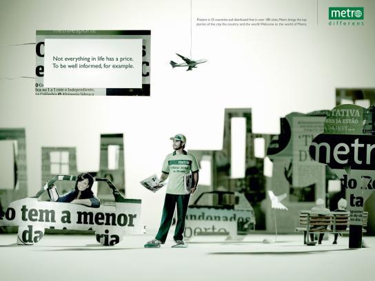 Metro Print Ad -  City