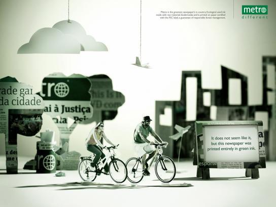 Metro Print Ad -  Ecology