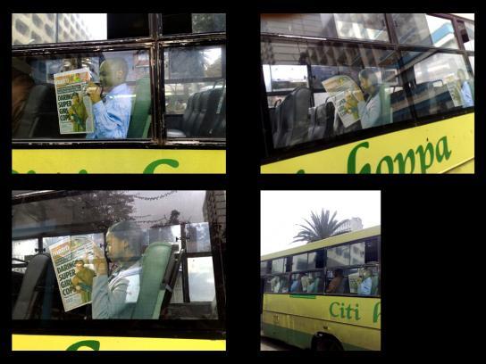 Metro Ambient Ad -  Bus