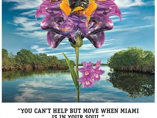 City of Miami Print Ad -  Expressions, 1