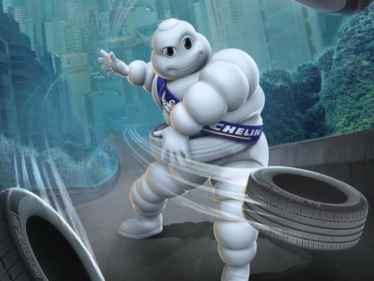 Michelin Print Ad -  The right tire