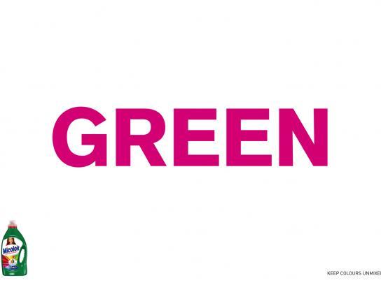 Micolor Print Ad -  Green