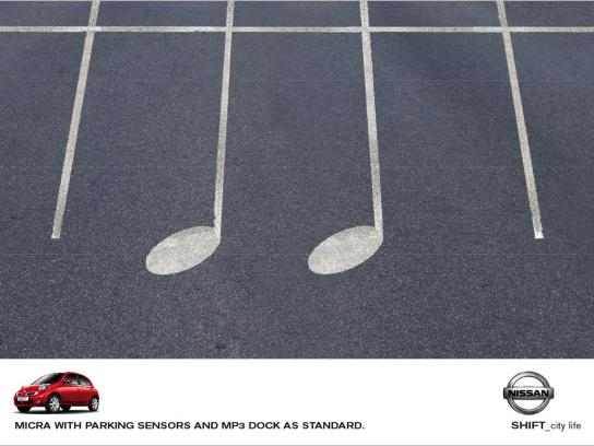 Nissan Print Ad -  Parking