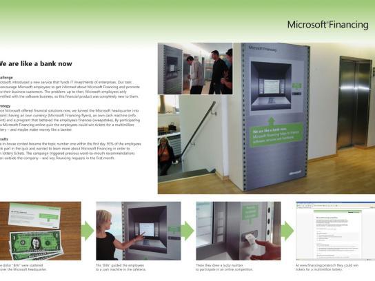 Microsoft Ambient Ad -  Bank