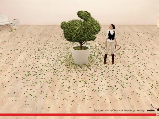 Miele Print Ad -  Plant