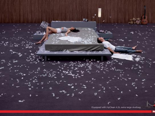 Miele Print Ad -  Pillows