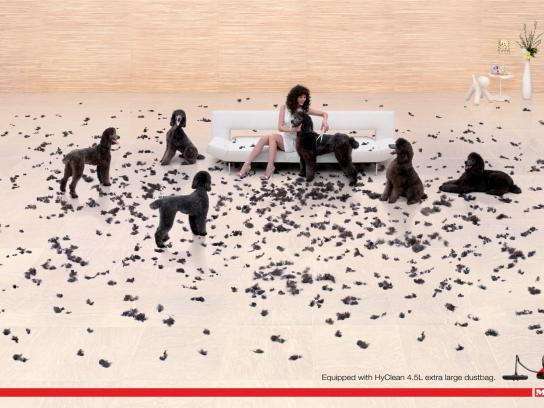 Miele Print Ad -  Dogs