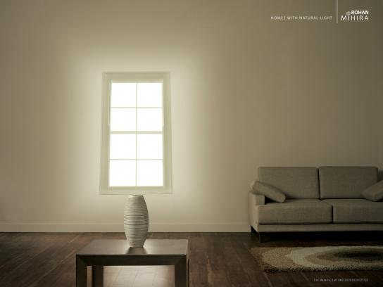 Rohan Print Ad -  Homes with natural light, 1