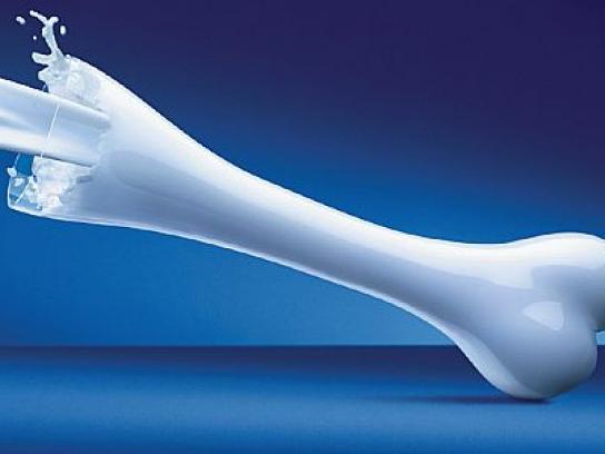 Milk Print Ad -  Bone