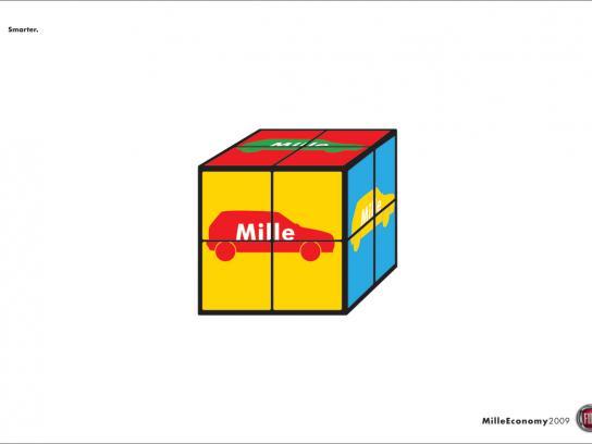 Fiat Print Ad -  Cube