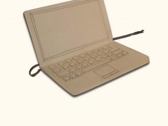 Moleskine Print Ad -  Laptop