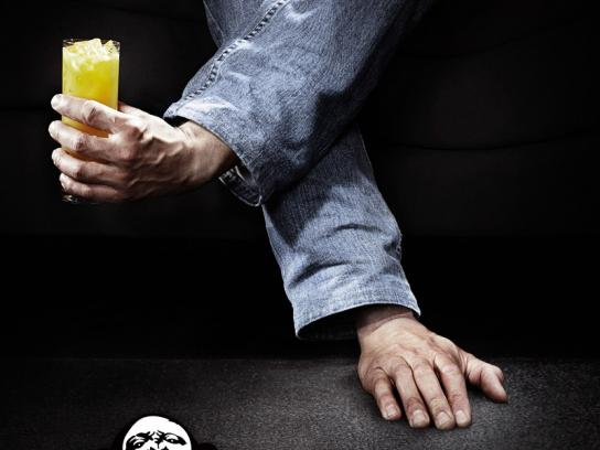 The Monkey Nightclub Print Ad -  Cocktail