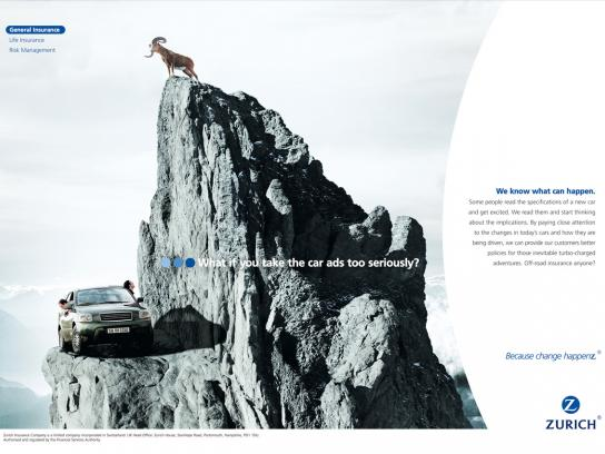 Zurich Print Ad -  Mountain