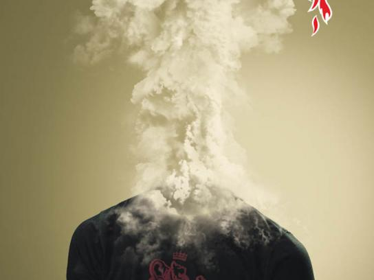 Mr Hot Pepper Print Ad -  Explosion, 1