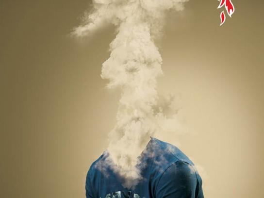 Mr Hot Pepper Print Ad -  Explosion, 3