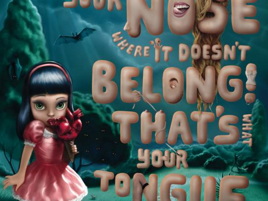 MTV Print Ad -  Tongue