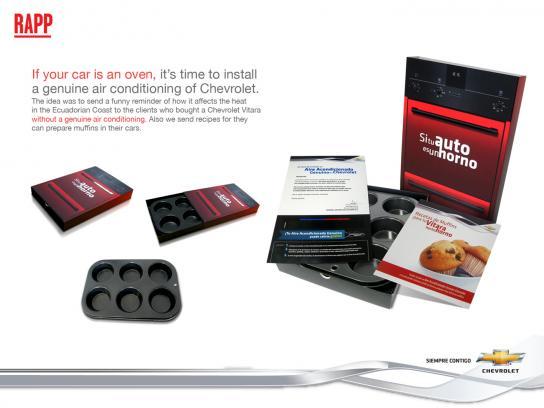Chevrolet Print Ad -  Muffins