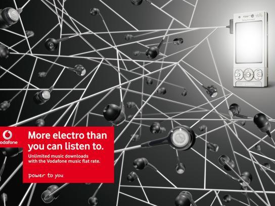 Vodafone Print Ad -  Electro