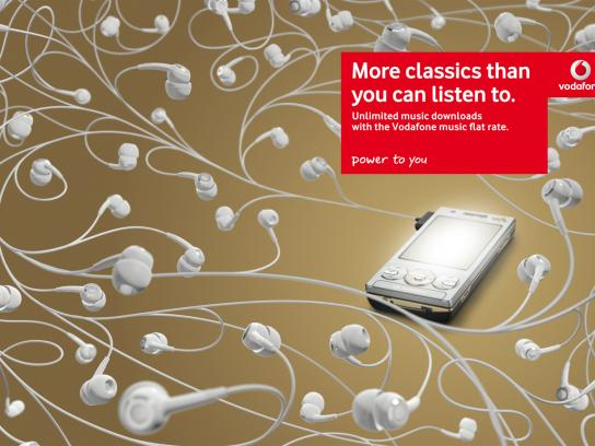 Vodafone Print Ad -  Classic