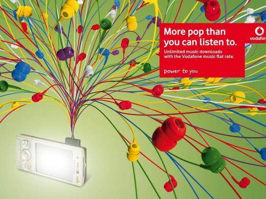 Vodafone Print Ad -  Pop