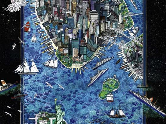 NAVIA Print Ad -  New York