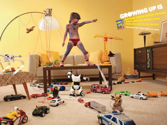 Nesquik Print Ad -  Growing up is..., 1