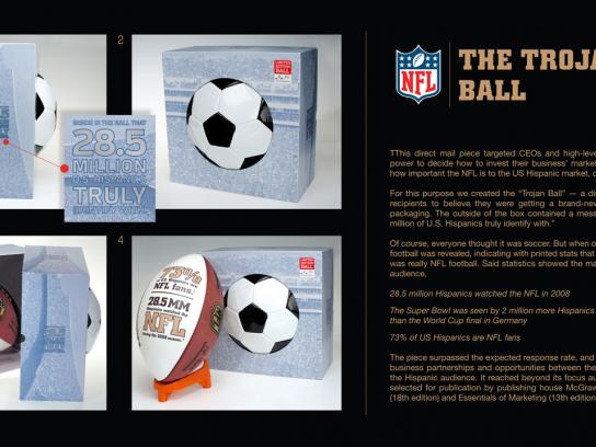 NFL Direct Ad -  The Trojan Ball