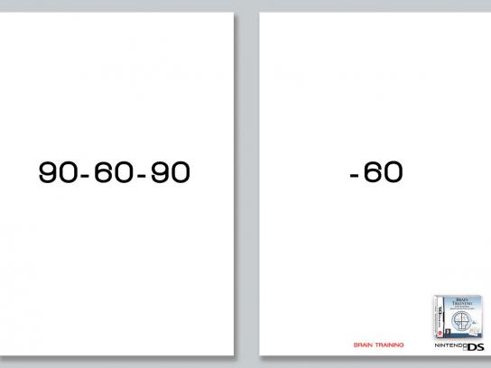 Nintendo Print Ad -  Numbers