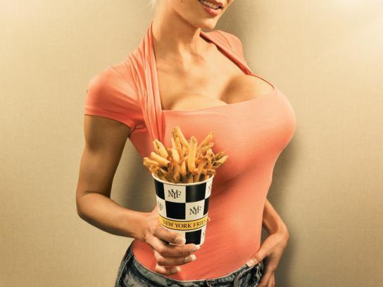 New York Fries Print Ad -  Fake