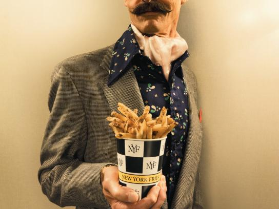 New York Fries Print Ad -  Toupee