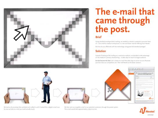 Neotel Direct Ad -  The physical e-mail