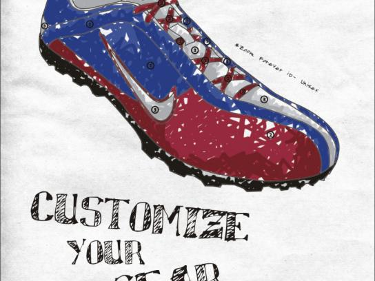 Nike Print Ad -  Shoe