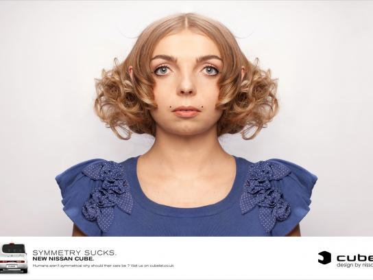 Nissan Print Ad -  Blonde