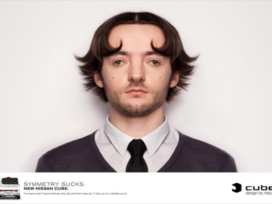 Nissan Print Ad -  Guy
