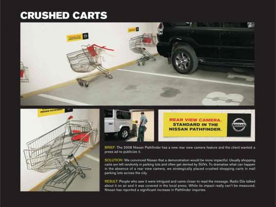 Crushed carts