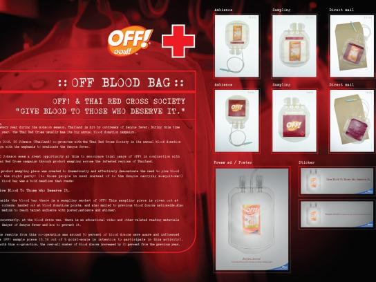 Off Ambient Ad -  Blood bag