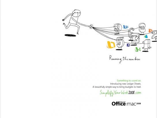 Mac 2008  Simplify Your Work, Run numbers