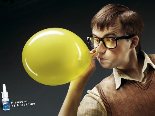 Otrivin Print Ad -  Balloon