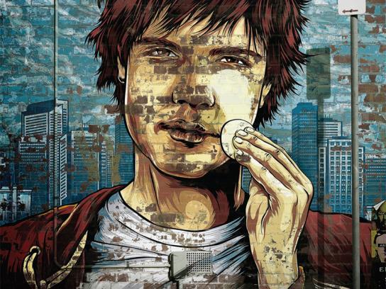 Oxy Print Ad -  Graffiti