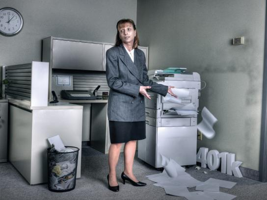 Freedom One Financial Print Ad -  Office