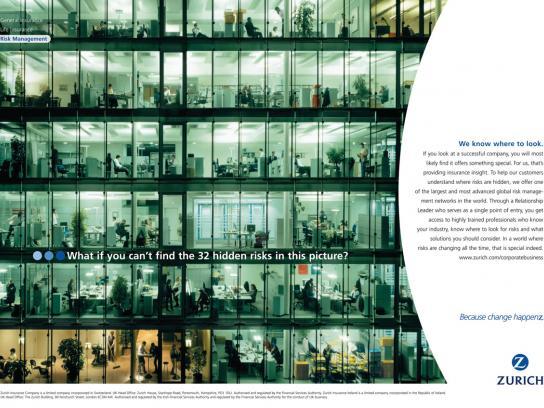 Zurich Print Ad -  Office