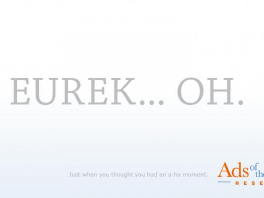 Ads of the World Print Ad -  Eureka