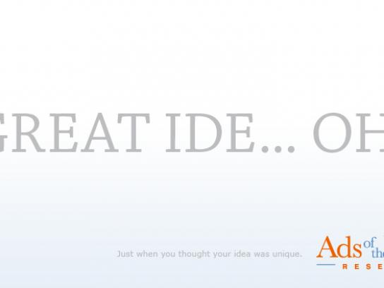 Ads of the World Print Ad -  Idea