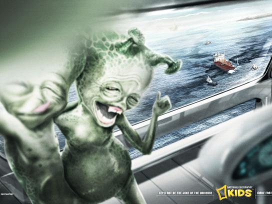 National Geographic Print Ad -  Oil Spill