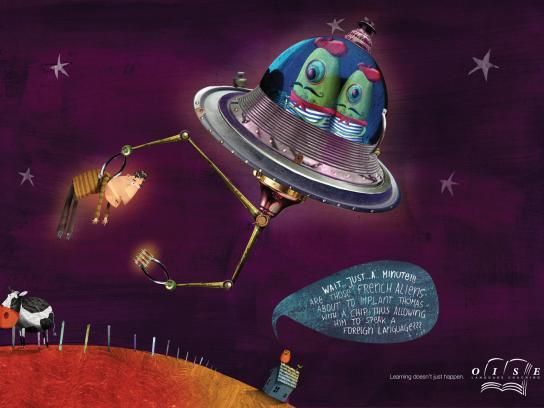 Oise Print Ad -  UFO