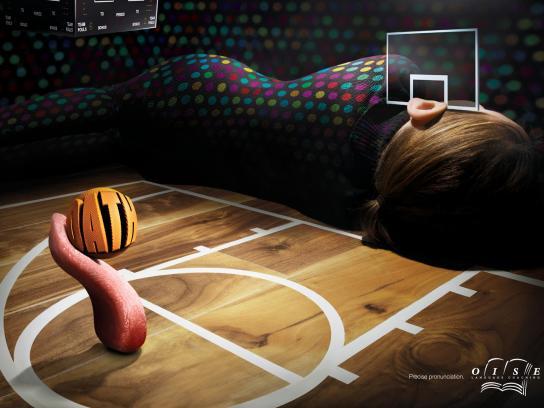 Oise Print Ad -  Basketball