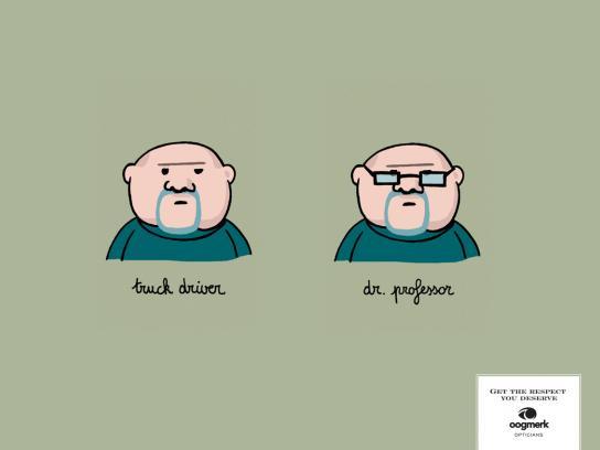 Oogmerk Print Ad -  Prof