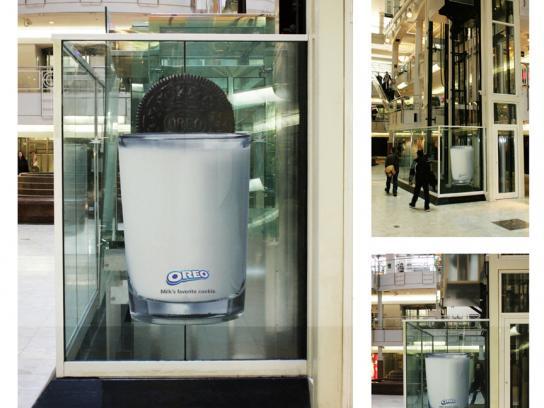 Oreo Ambient Ad -  Elevator