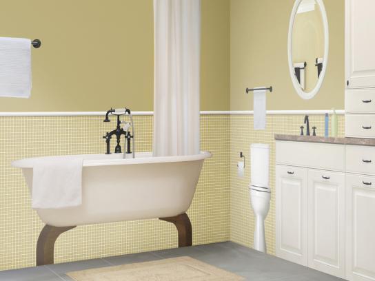 Orkin Print Ad -  Bathroom