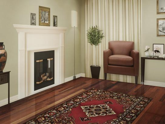 Orkin Print Ad -  Living room